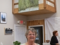 Doreen OConner with painting