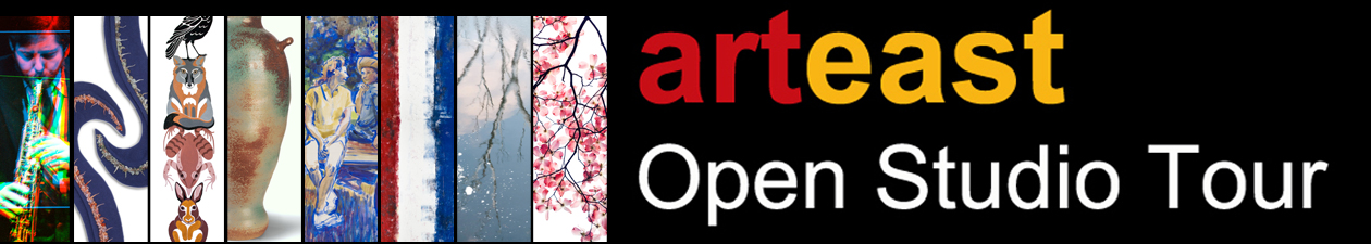 2016 ArtEast Open Studio Tour Oct. 15,16 and 22, 23 from 11am-5pm